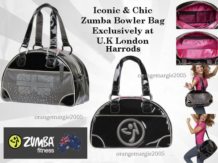 Zumba Tote Bag London Love Bowler UK Harrods ConventionGymPurse184 Retail