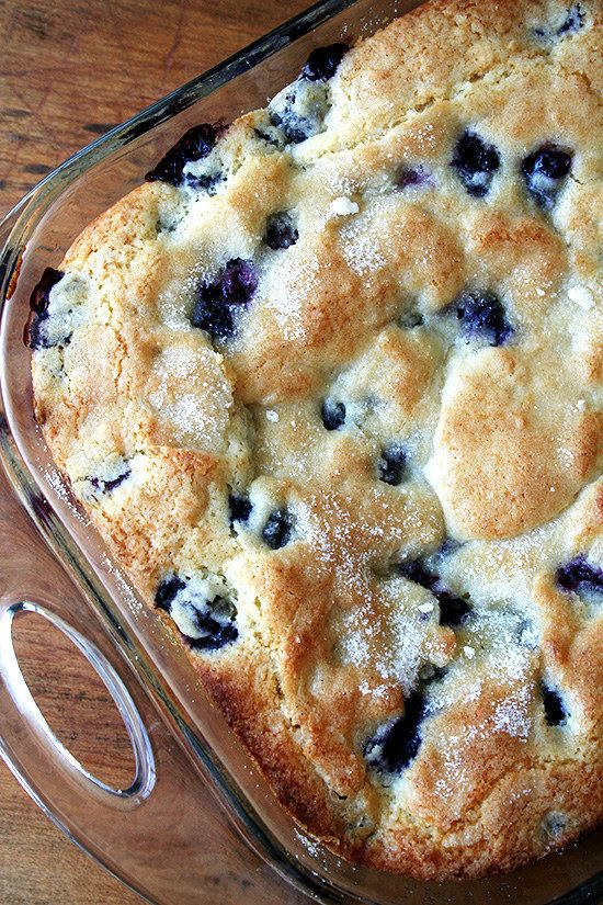 Buttermilk Blueberry Breakfast Cake | Community Post: 20 Magical Christmas Morning Breakfasts