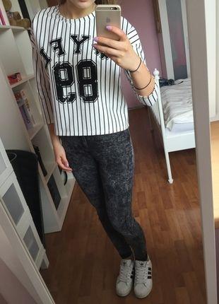 Kup mój przedmiot na #vintedpl http://www.vinted.pl/damska-odziez/bluzy-i-swetry-inne/10288849-bluzabuzka-w-paski-czarno-biala
