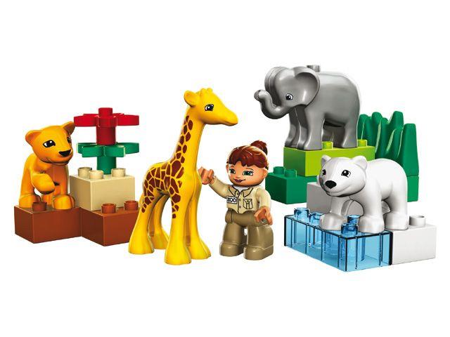 Lego Duplo 4962 baby dierentuin