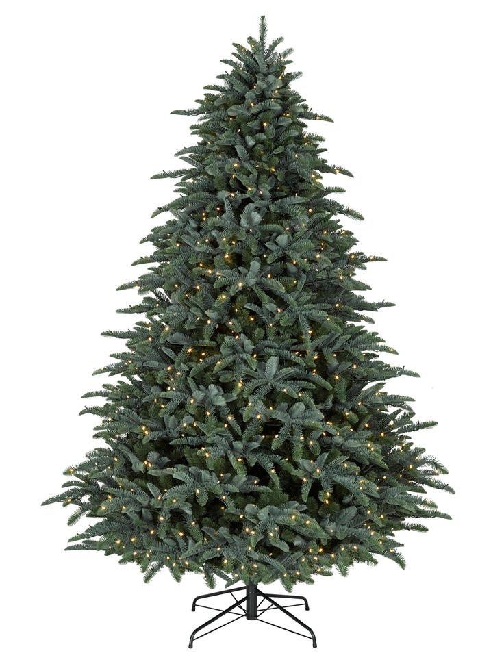 7.5' Noble Fir Christmas Trees with Clear lights- Balsam Hill - Sale is $599 though :(