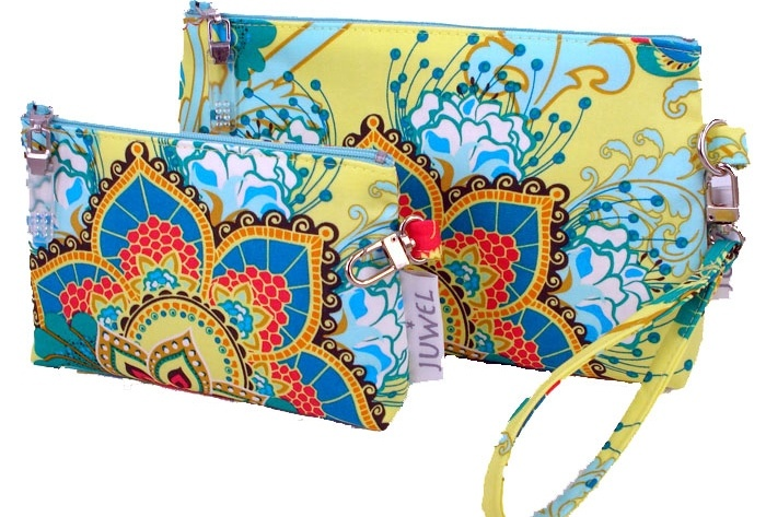 Handmade clutches from Juwel