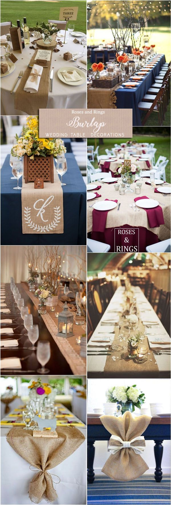 36 Amazing Rustic Country Burlap Wedding Decor