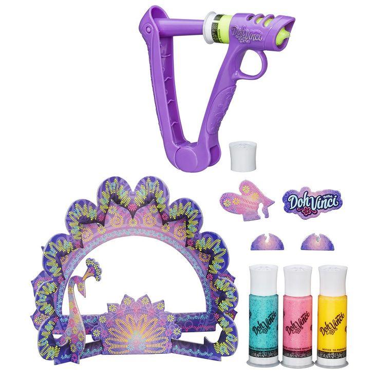 Play-Doh Dohvinci s třpitivým dekoračním rámečkem - Bambule Království hraček