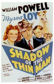Shadow Of The Thin Man, 1941, was the second Thin Man film featuring Sam Levene as Lieutenant Abrams. A total of six Thin Man Movies were made featuring Myrna Loy & William Powell from the now famous film series by Dashiell Hammett.