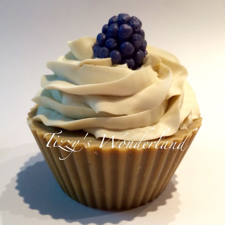 Handmade Cupcake Soap by Tizzy's Wonderland