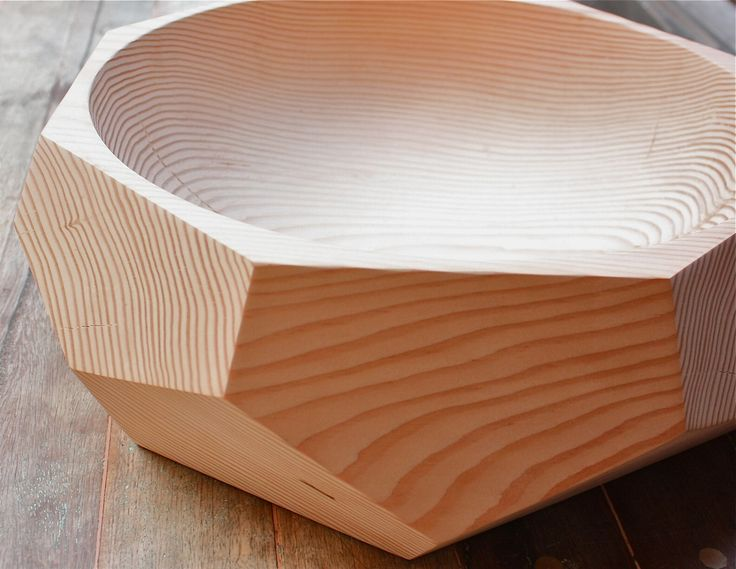 Wicked wooden bowl