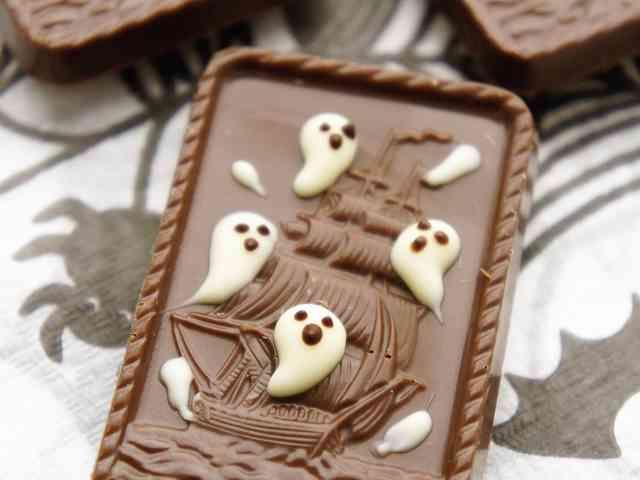 ハロウィン★アルフォートで幽霊船クッキーの画像