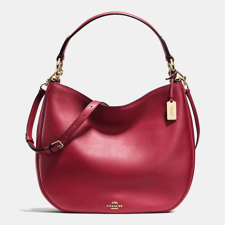 ... Convertible Bag Purse 54446 Coach Nomad Hobo in Glovetanned Leather ... aaa69f5da319f