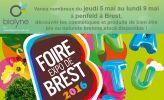 Venez nombreux du jeudi 5 mai au lundi 9 mai à penfeld à #Brest, découvrir les cosmétiques et produits de bien être bio ou naturels bretons,stock disponible !  http://www.obiolyne.fr/actualites-finistere/informations-pratiques/121-obuilyne-present-a-la-penfeld-de-brest.html