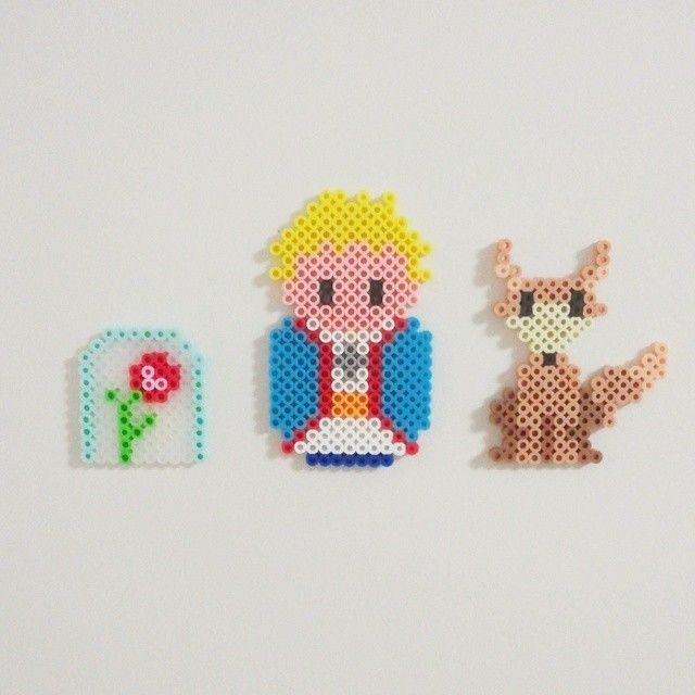 The Little Prince perler beads by nnyung89