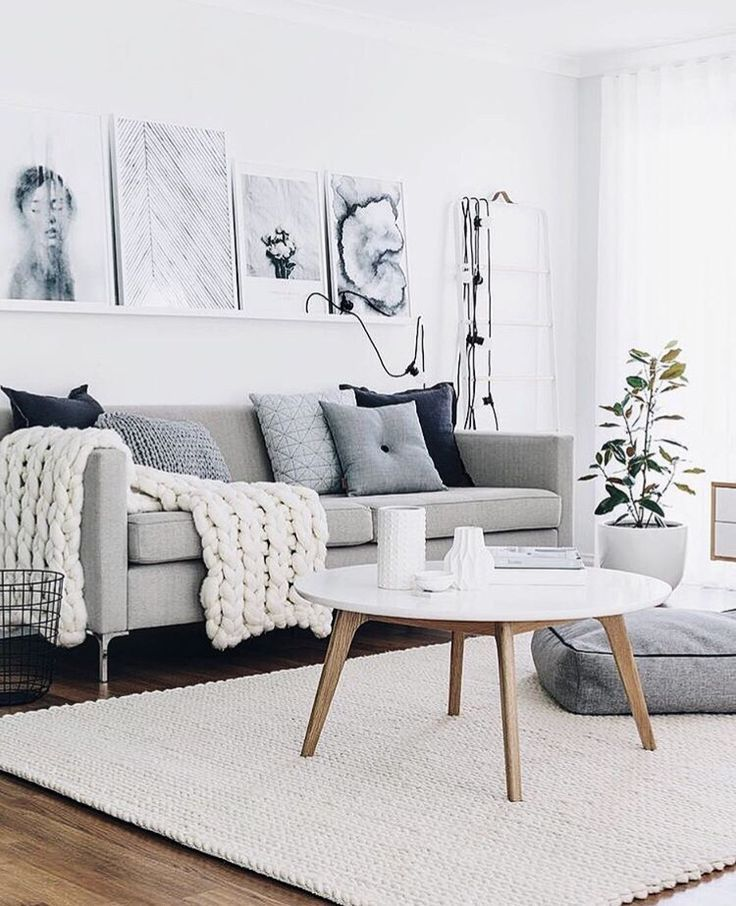 Because Winter Means Coziness Fuzzy Blankets And Warming Up Around The Fireplace Today We Are S Room Inspiration Living Room Designs Living Room Scandinavian