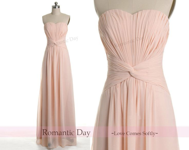 Pretty blush long gown!
