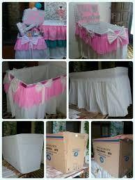 Resultado de imagen para moises de carton para baby shower