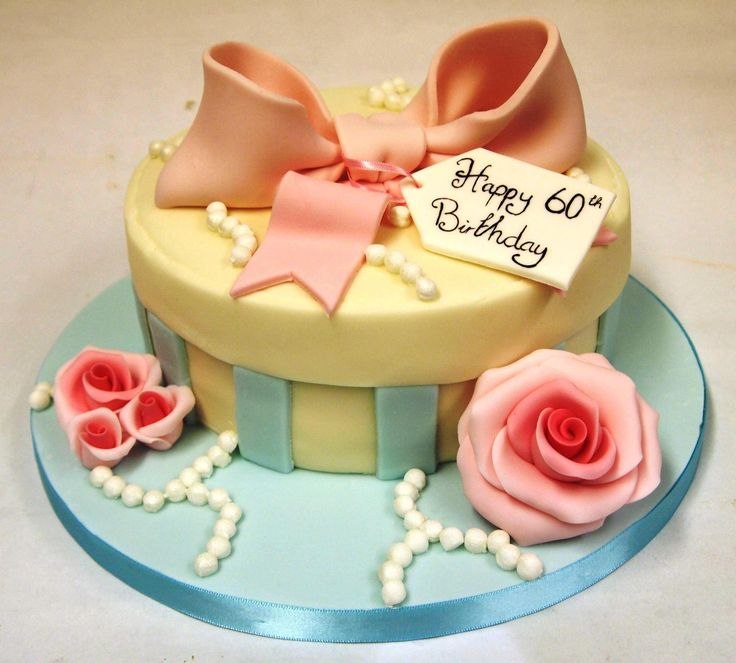60th birthday cakes for her - Google Search