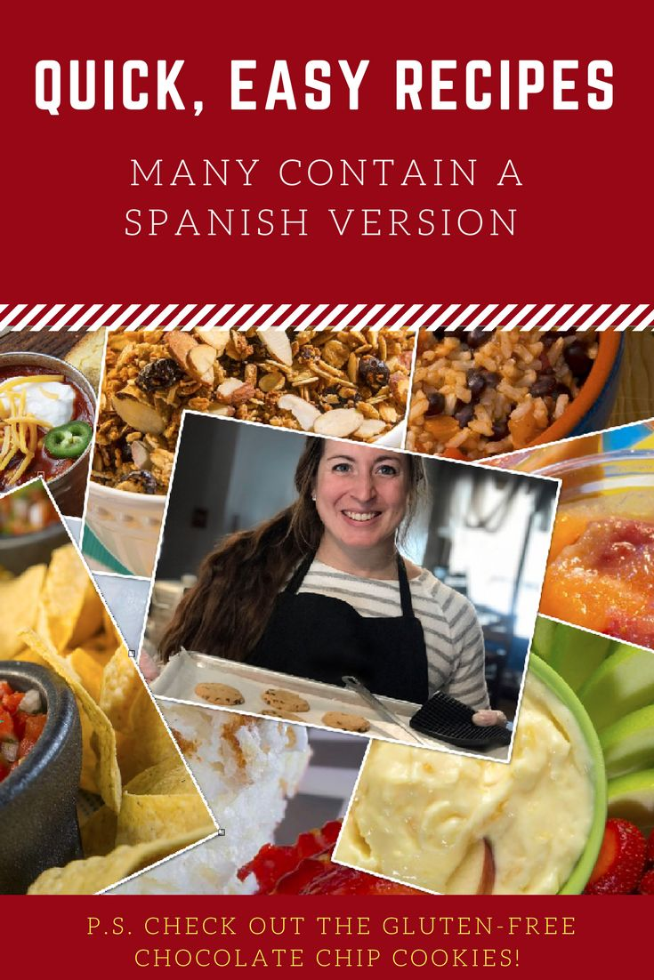 Need some quick, easy recipes that include a Spanish version or a great-tasting gluten-free chocolate chip cookie made delicious with sorghum flour (you may never know it is gluten-free)? Check out Nebraska Extension's latest Cook It Quick Newsletter.