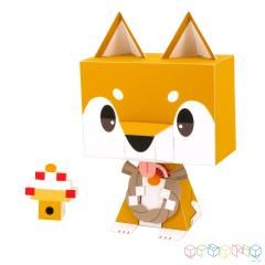 GRAPHIG: Shiba Inu - Toy Figures - Toys - Paper Craft - Canon Creative Park