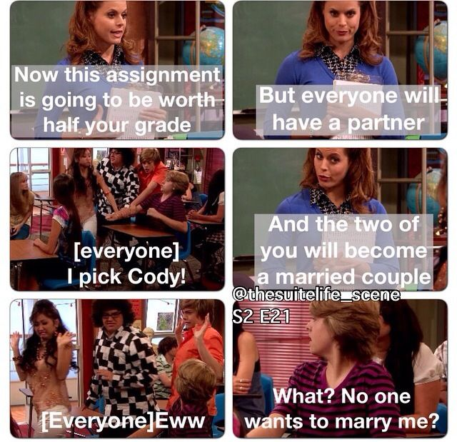 Suite Life on Deck.. Love This Scene.