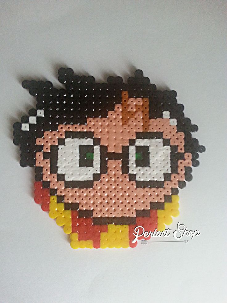 Décoration Harry Potter en Perles Hama
