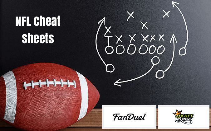 Daily Fantasy Football updated projections with FanDuel NFL Cheat Sheet & DraftKings for 2016 week 4. Fanduel and DraftKings Cheat Sheets includes.Fanduel NFL and DraftKings players stats and projections. Fanduel NFL and DraftKings TOP Picks & Targets in each Position. Fanduel