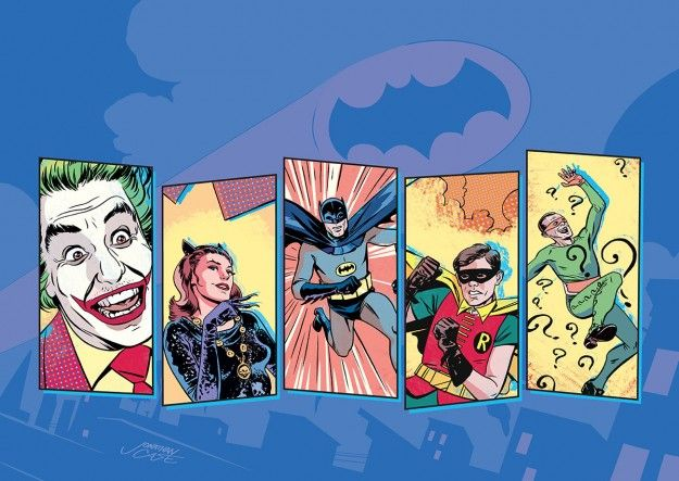 DC to launch digital-first Batman comic based on classic TV show [Updated with art] | Robot 6 @ Comic Book Resources – Covering Comic Book News and Entertainment