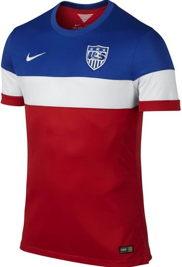 2014 World Cup USA Away Soccer Jersey