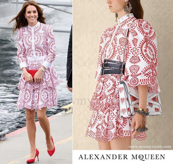 25 September 2016 - Kate style: Alexander McQueen (£ 4000)
