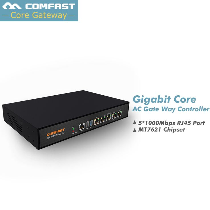 Fast DHL SHIP ! Comfast Full Gigabit AC Authentication Gate way Routing MT7621 880Mhz Core Gateway wifi project manager Routers