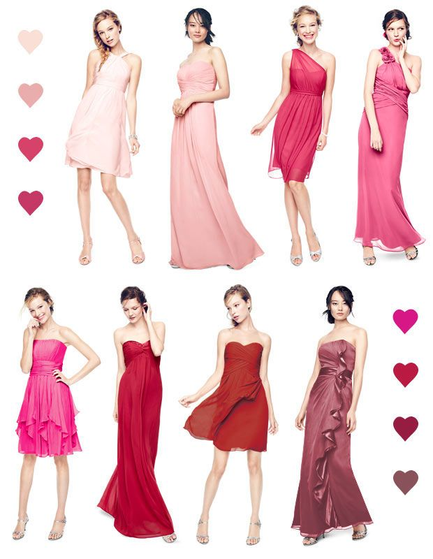 Color Palettes, Bridesmaid Dresses by Color | Palette - David's Bridal...I love Punch and Petal together!