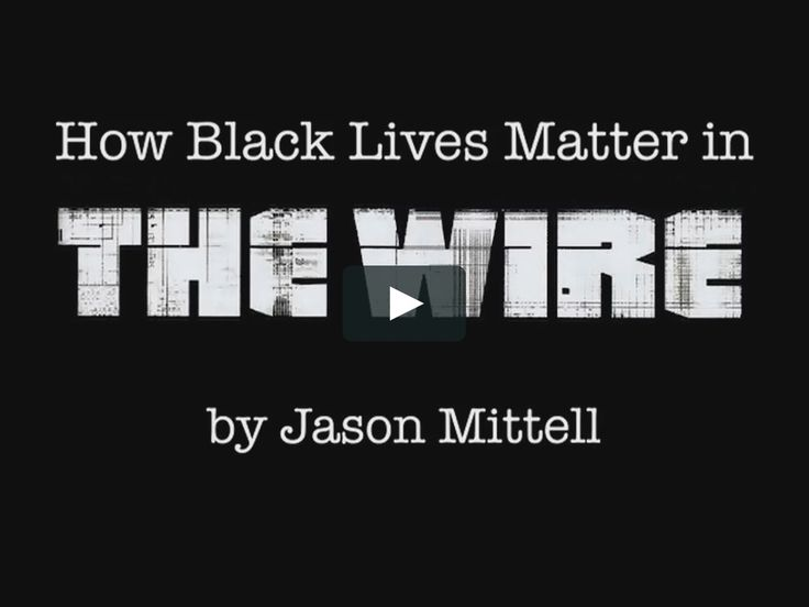 A video essay that considers the representations of police brutality against black people as represented in - or erased from - THE WIRE.