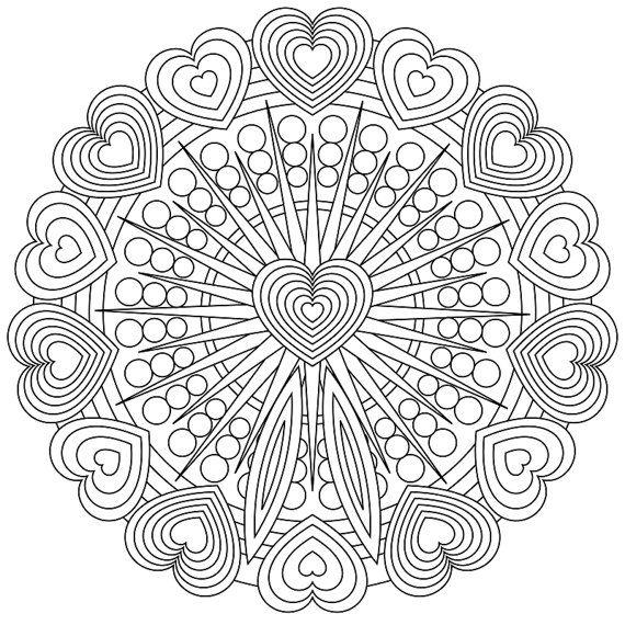Mandala Madness 4: 30 Coloring Designs (Mandala Madness Designs) (Volume 4)