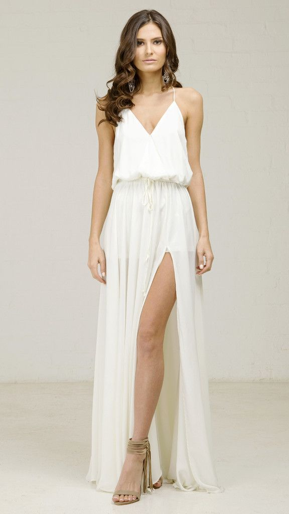 find this pin and more on casual wedding dress