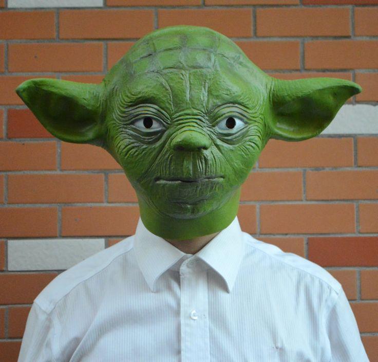 Yoda Head Mask //Price: $31.99 & FREE Shipping //     #hashtag3