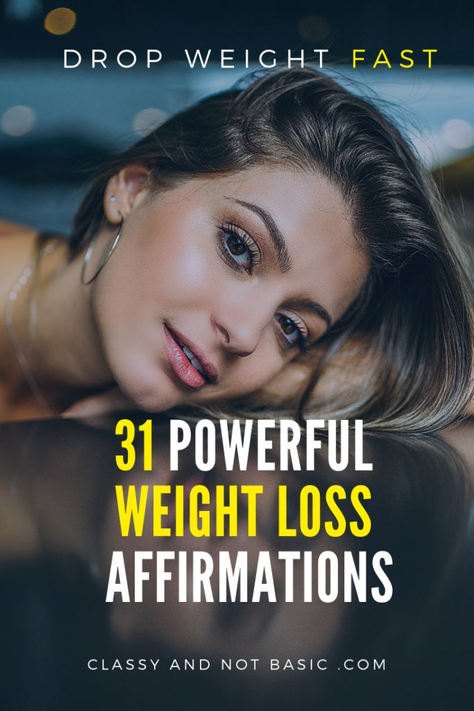 31 weight loss affirmations