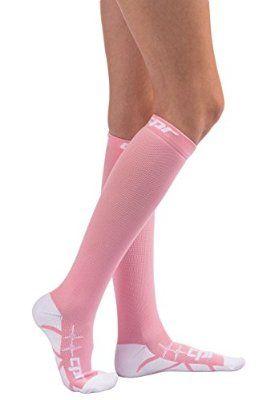 CPR Compression Socks for Women and Men Nurses Compression Socks - Graduated Compression 20-30 MMHG - Medical Athletic Compression Running Socks - Leg Pain - Shin Splints - Nursing Compression Socks