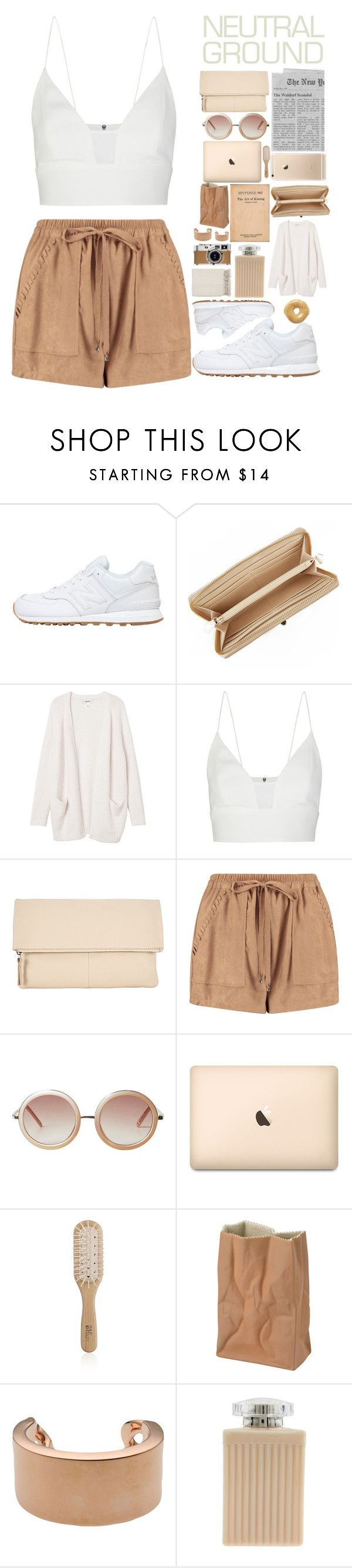 """""""neutral"""" by experimental-m ❤ liked on Polyvore featuring New Balance, DKNY, Monki, Narciso Rodriguez, Kin by John Lewis, Boohoo, Philip Kingsley, Rosenthal, Maison Margiela and Chloé"""
