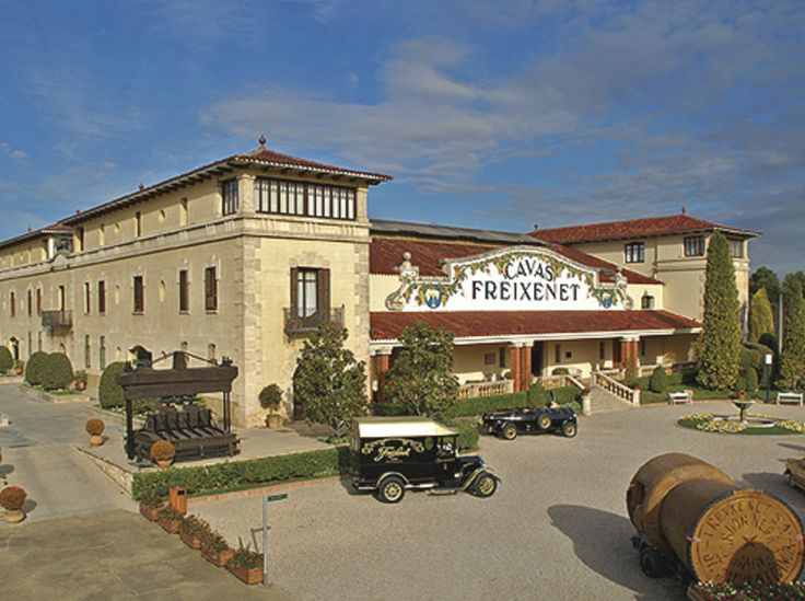 Freixenet produces one billion bottles a year, including the cava that has become one of the company's star brands, Carta Nevada, and its leading export cava, Cordón Negro, found on the tables of 140 countries. Also, Grupo Freixenet has eighteen wineries spread across wine regions in Spain and abroad (California and Australia) #AltPenedes #bcnmoltmes #wine #cava #vineyard @freixenet