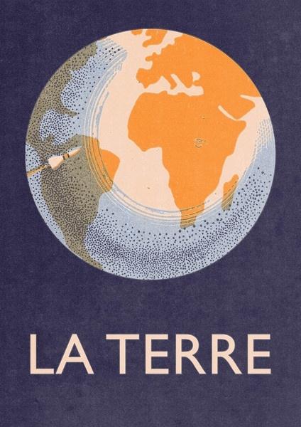 La Terre Print (limited edition): The Terre, Illustration, Poster, Earth, Design, Room