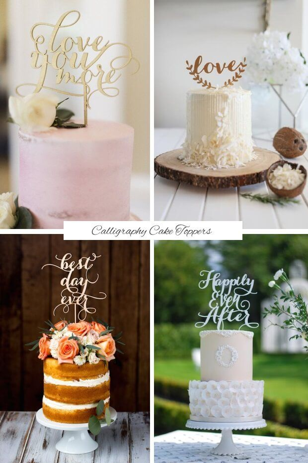 Find out what delicious dessert trends we'll be sinking our teeth into this year with today's guide to the top wedding cake trends for 2017! Greenery Green