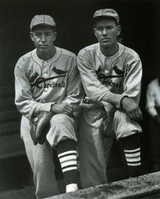 Paul Dean and Dizzy Dean, 1934, St. Louis Cardinals, by Charles Conlon