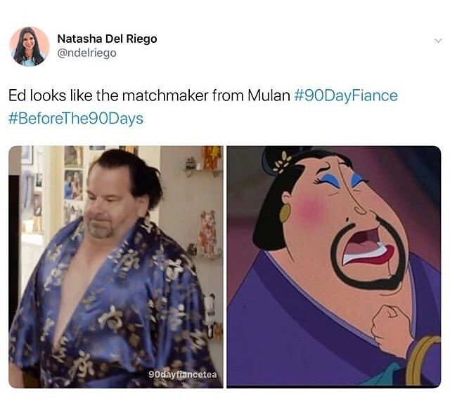 Promo Sale Dm Email On Instagram The Resemblance Is Uncanny 90dayfiance 90dayfiancebeforethe90days Beforeth Fiance Humor 90 Day Fiance Really Funny Memes