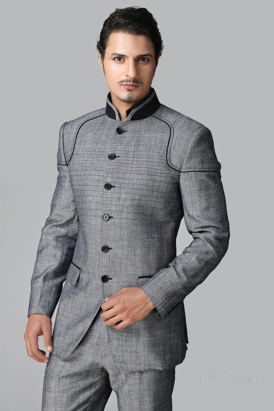 I am partial to this suit. It's slimming, unconventional yet classic, very manly in a military cut kinda way, and it'll be easy for my otter to wear this even on non-occasions.