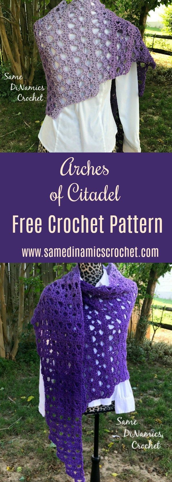 how to make a pattern of arches