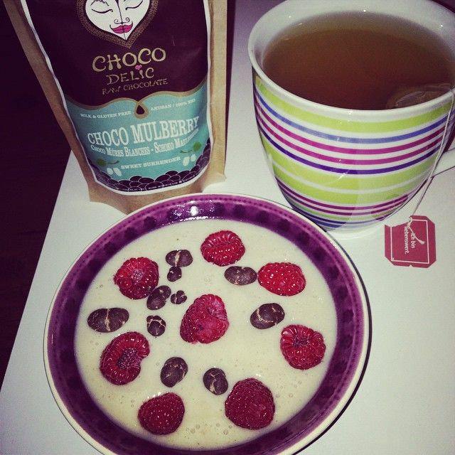 A CHOCOdelic breakfast.