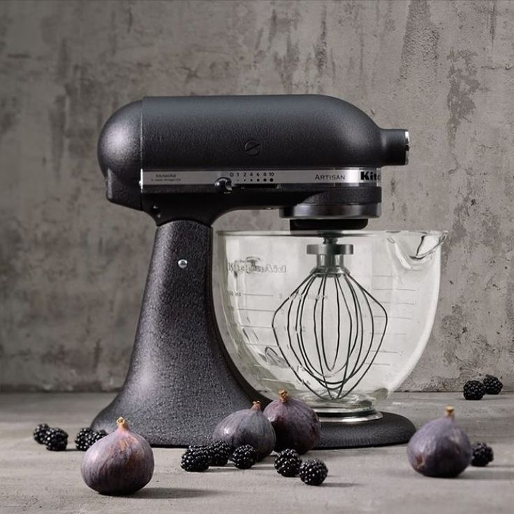 "304 Likes, 69 Comments - KitchenAid Australia & NZ (@kitchenaidausnz) on Instagram: ""Introducing the first textured, matte finished Stand Mixer - Cast Iron Black! What do you think?…"""