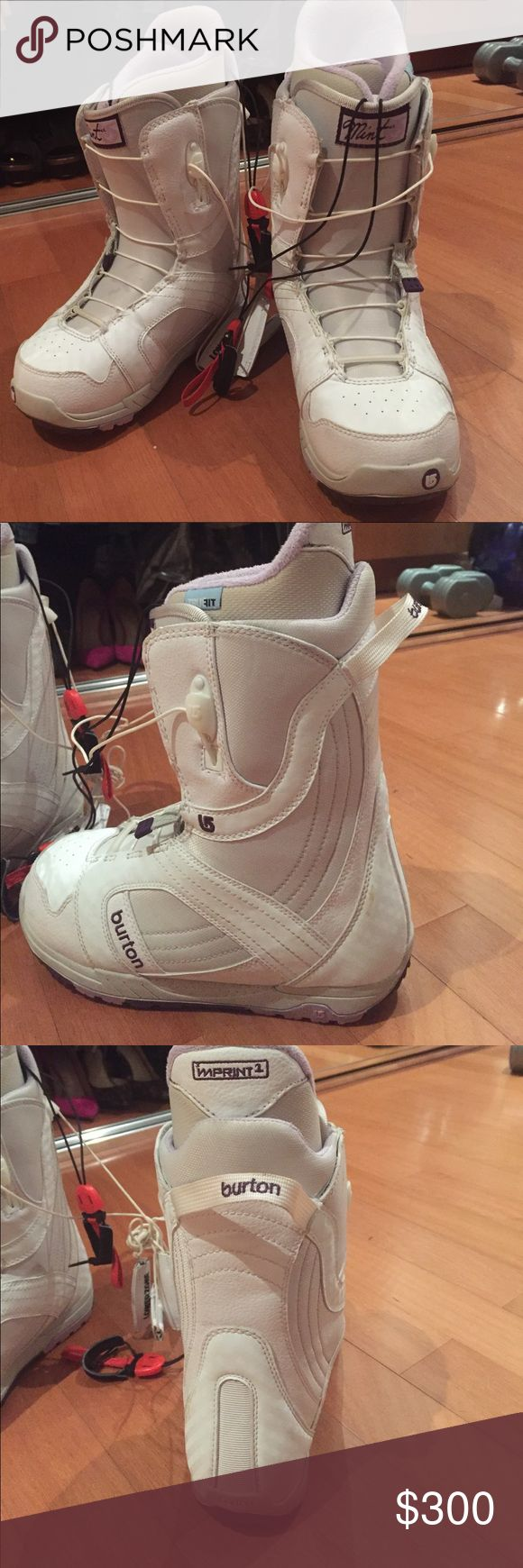 Burton Snowboard Boots Burton Mint Original Snowboard Boots. Only used twice. In excellent condition. No marks, no scratches. Please let me know if you need more pictures. No original box Burton Other