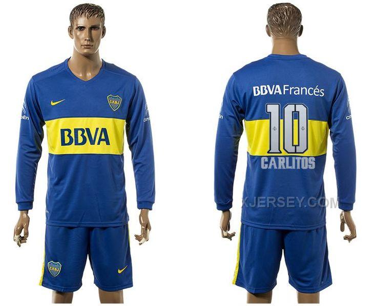 http://www.xjersey.com/201617-boca-juniors-10-garlitos-home-long-sleeve-soccer-jersey.html 2016-17 BOCA JUNIORS 10 GARLITOS HOME LONG SLEEVE SOCCER JERSEY Only $35.00 , Free Shipping!