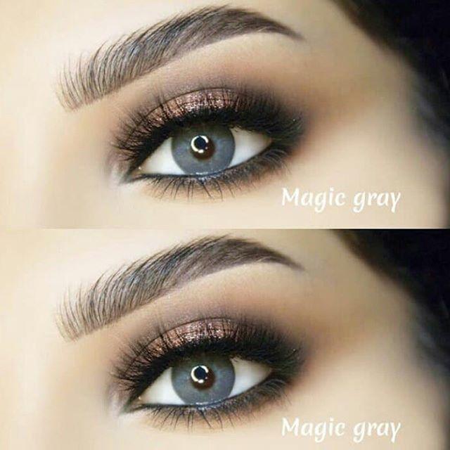 New The 10 Best Eye Makeup Ideas Today With Pictures عدسات لازورد اللون ماجيك جراي قطر العدسة 14 2 فت Eyeshadow Instagram Posts Instagram