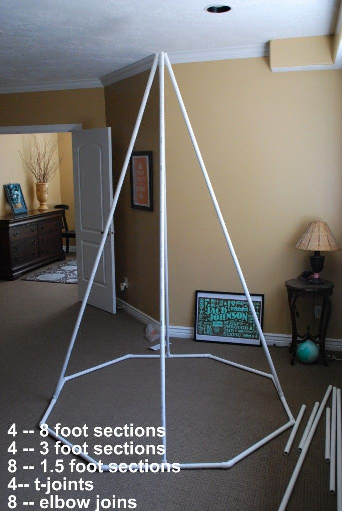Make a Reading Tent. How to build a play teepee. | The New Home Ec