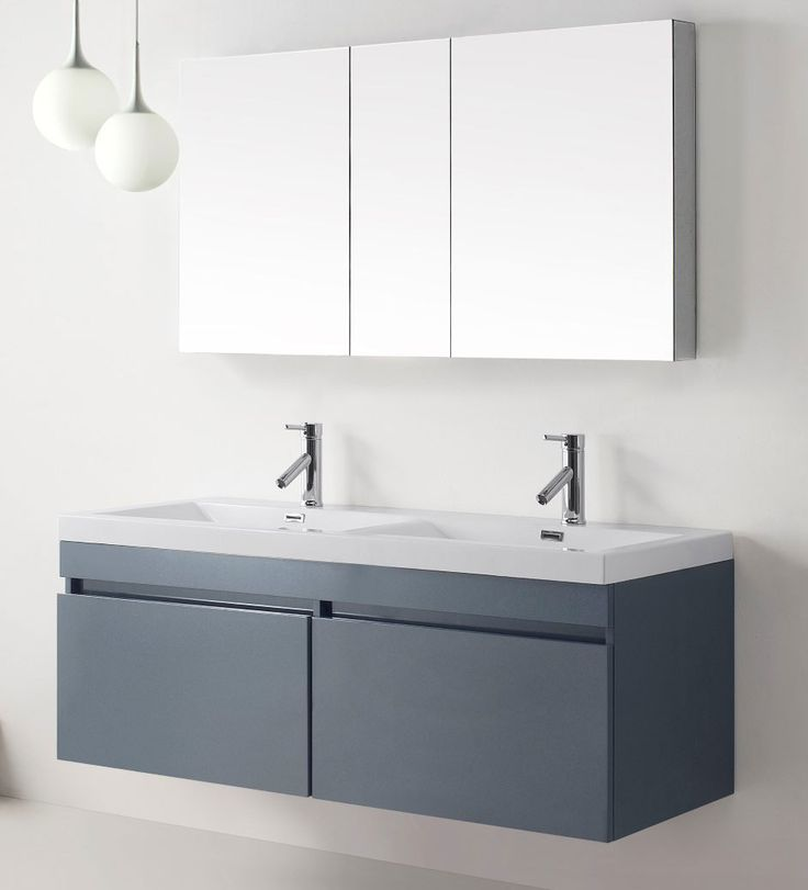 24 best wall mounted bathroom vanities images on pinterest modern bathroom modern bathrooms for Ultra bathroom vanities burbank
